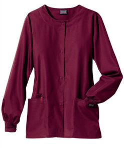 sku 4350 Cherokee Workwear cardigan scrub jacket