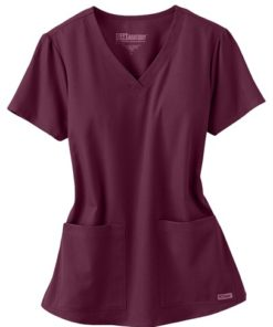 sku 71166 Greys Anatomy v-neck 2-pocket scrub top