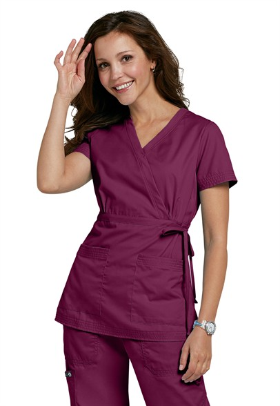 Koi-Katelyn-mock-wrap-scrub-top-137