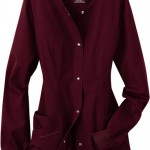 sku c1330 Cherokee Luxe Collection stretch scrub jacket