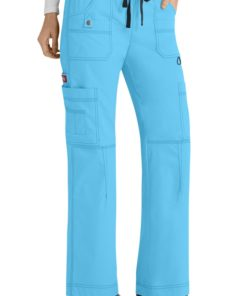 sku 857455 Dickies Gen Flex Ladies Youtility 9-pocket scrub pants