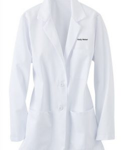 sku 125 Fashion Seal ladies consultation lab coat