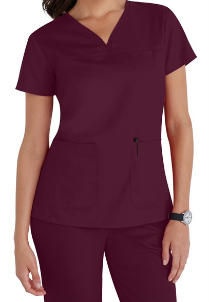 Greys-Anatomy-3-pocket-empire-v-neck-scrub-top-41340