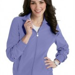 sku 2391a Infinity by Cherokee zip front warm up scrub jacket