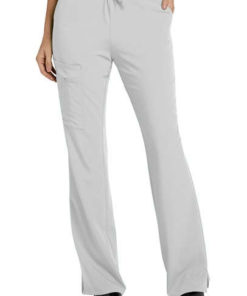 sku 2249 Jockey drawstring zipper pocket cargo scrub pant