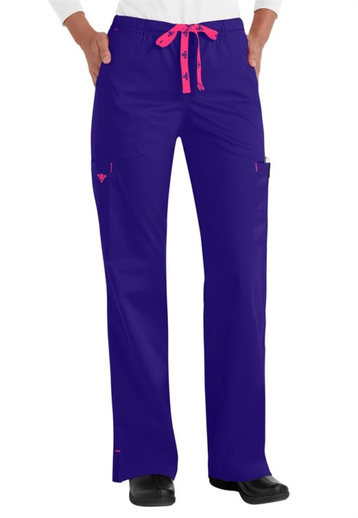 Med-Couture-Moda-modern-fit-cargo-scrub-pants-8724
