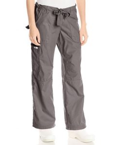 sku 1703 Koi Women's Petite Lindsey Ultra Comfortable Cargo Style Scrub Pants Sizes