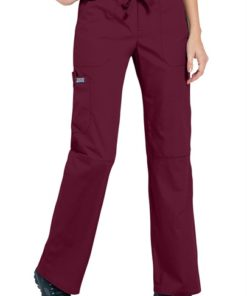 sku 4020 Cherokee Workwear trendy cargo scrub pants