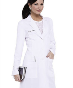 sku 2402 Greys Anatomy Signature Soft Stretch Lab Coat w tablet pocket