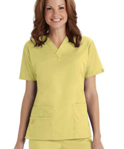 sku w6016 WonderWink Bravo v neck scrub top