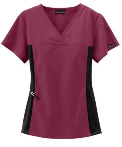 sku 2874 Cherokee Flexibles crossover scrub top