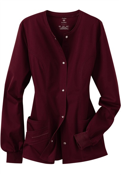 Cherokee-Luxe-Collection-stretch-scrub-jacket-C1330