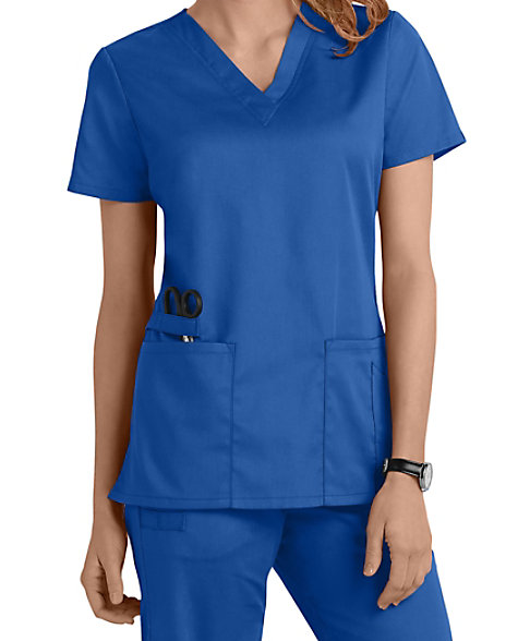 Cherokee Workwear Scrub Tops Certainty 44700